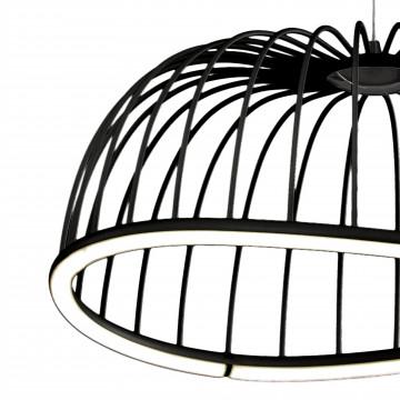 Подвесной светодиодный светильник Mantra Celeste 6684, LED 30W 3000K 2100lm, черный, металл - миниатюра 3
