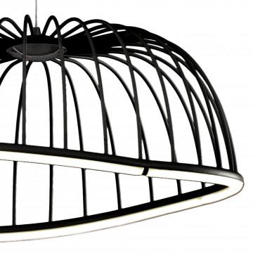 Подвесной светодиодный светильник Mantra Celeste 6684, LED 30W 3000K 2100lm, черный, металл - миниатюра 4