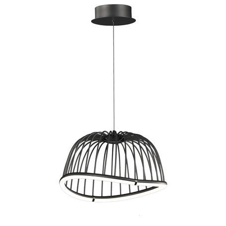 Подвесной светодиодный светильник Mantra Celeste 6685, LED 20W 3000K 1400lm, черный, металл