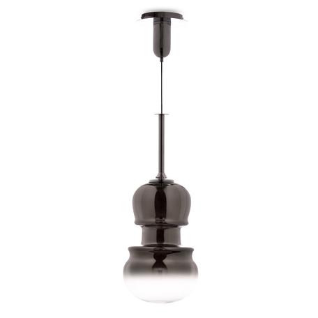 Подвесной светильник Mantra Sonata 6691, 1xE27x40W, хром, дымчатый, металл, стекло