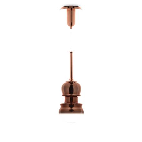 Подвесной светильник Mantra Sonata 6695, 1xE27x40W, медь, металл, стекло - миниатюра 1