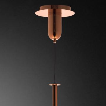 Подвесной светильник Mantra Sonata 6695, 1xE27x40W, медь, металл, стекло - миниатюра 6