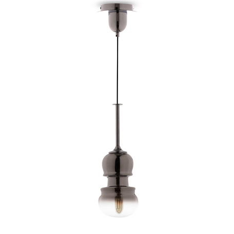 Подвесной светильник Mantra Sonata 6697, 1xE27x40W, хром, дымчатый, металл, стекло