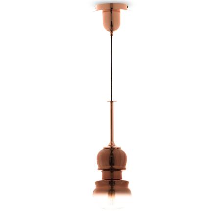 Подвесной светильник Mantra Sonata 6698, 1xE27x40W, медь, металл, стекло