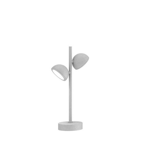Садово-парковый светильник Mantra Everest 6740, IP65, 2xGX53x10W, белый, металл, металл со стеклом/пластиком