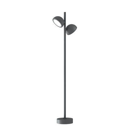 Садово-парковый светильник Mantra Everest 6743, IP65, 2xGX53x10W, серый, металл, металл со стеклом/пластиком