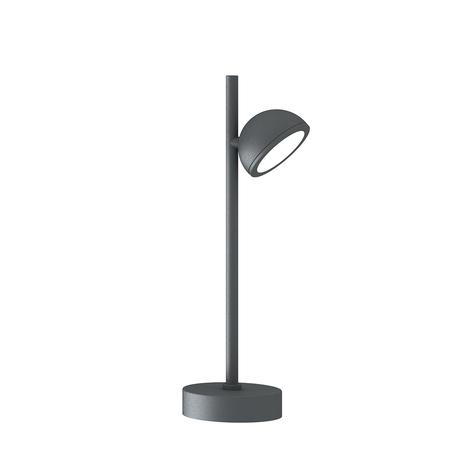 Садово-парковый светильник Mantra Everest 6745, IP65, 1xGX53x10W, серый, металл, металл со стеклом/пластиком