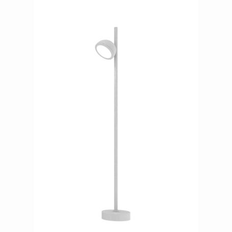 Садово-парковый светильник Mantra Everest 6746, IP65, 1xGX53x10W, белый, металл, металл со стеклом/пластиком