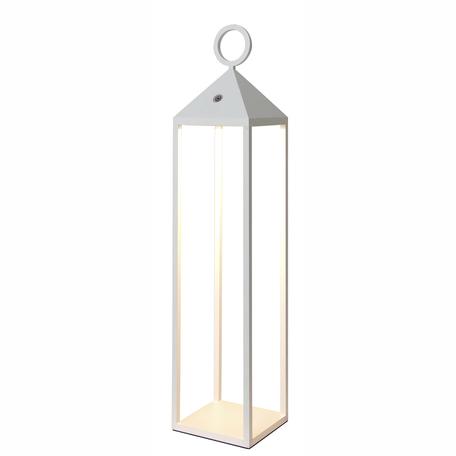 Садово-парковый светодиодный светильник Mantra Astun 6906, IP54, LED 2,2W 3000K 188lm, белый, металл