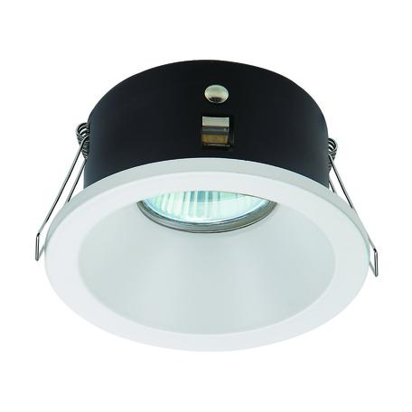 Встраиваемый светильник Mantra Comfort 6810, IP54, 1xGU10x12W, белый, металл