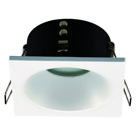 Встраиваемый светильник Mantra Comfort 6812, IP54, 1xGU10x12W, белый, металл