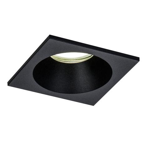 Встраиваемый светильник Mantra Comfort 6813, IP54, 1xGU10x12W, черный, металл