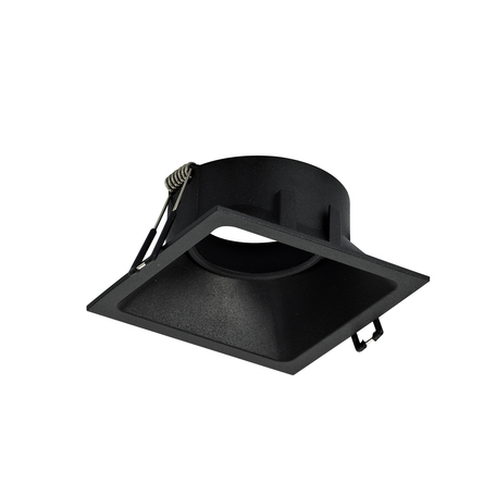 Встраиваемый светильник Mantra Comfort C0165, 1xGU10x12W, черный, металл