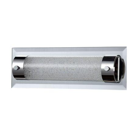 Настенный светодиодный светильник Maytoni Modern Plasma C444-WL-01-08W-N (mod444-00-n), LED 8W 4000K 560lm CRI80, зеркальный, никель, прозрачный, стекло с металлом, стекло