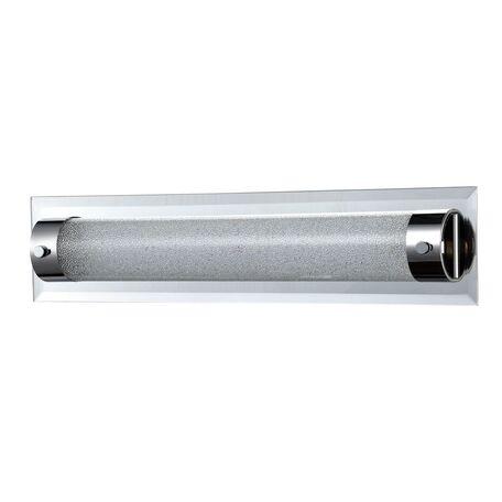 Настенный светодиодный светильник Maytoni Plasma C444-WL-01-13W-N (mod444-01-n), LED 13W 4000K 910lm CRI80, зеркальный, никель, прозрачный, стекло - миниатюра 1