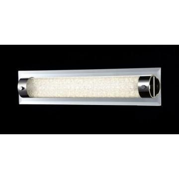 Настенный светодиодный светильник Maytoni Plasma C444-WL-01-13W-N (mod444-01-n), LED 13W 4000K 910lm CRI80, зеркальный, никель, прозрачный, стекло - миниатюра 2