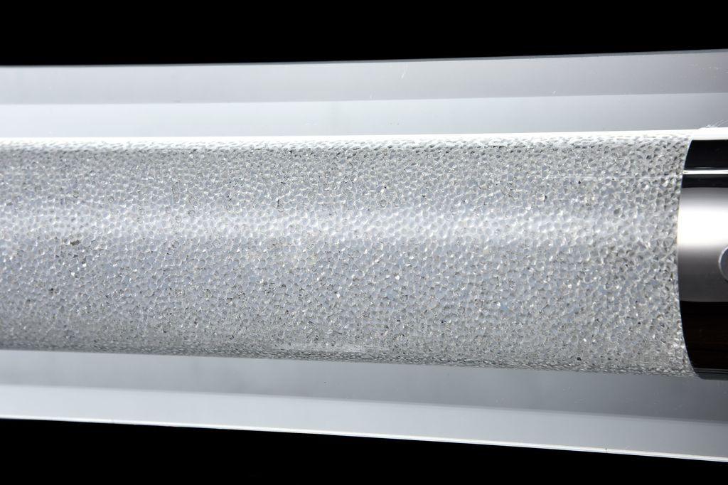 Настенный светодиодный светильник Maytoni Plasma C444-WL-01-13W-N (mod444-01-n), LED 13W 4000K 910lm CRI80, зеркальный, никель, прозрачный, стекло - фото 4