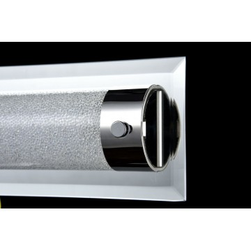 Настенный светодиодный светильник Maytoni Plasma C444-WL-01-13W-N (mod444-01-n), LED 13W 4000K 910lm CRI80, зеркальный, никель, прозрачный, стекло - миниатюра 5
