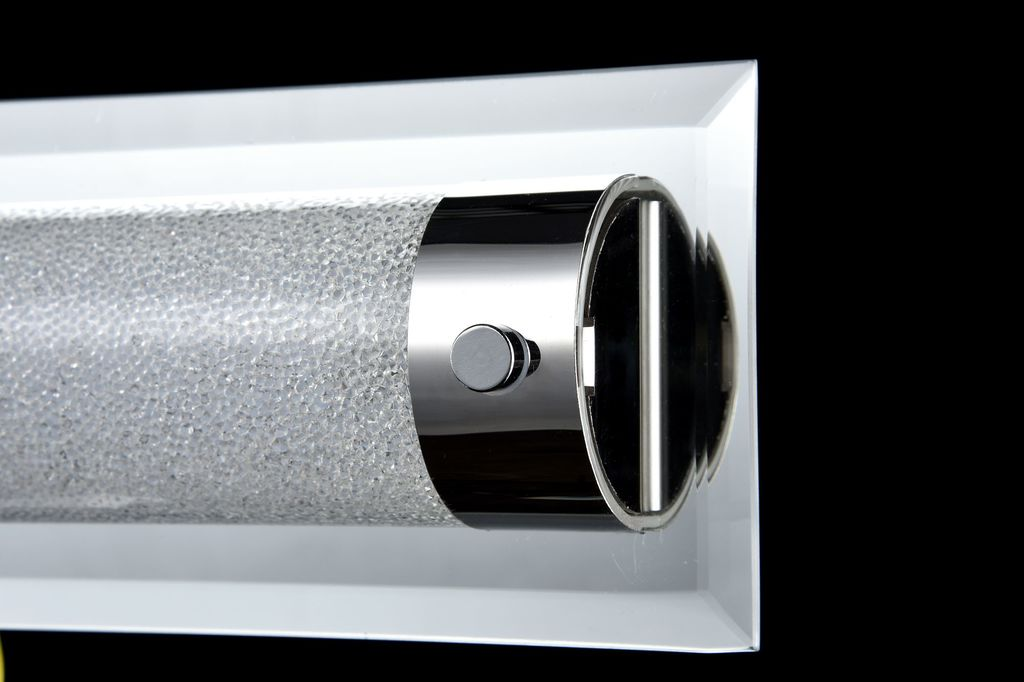 Настенный светодиодный светильник Maytoni Plasma C444-WL-01-13W-N (mod444-01-n), LED 13W 4000K 910lm CRI80, зеркальный, никель, прозрачный, стекло - фото 5
