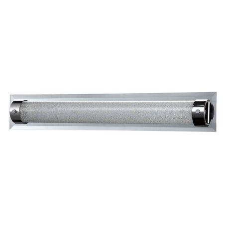 Настенный светодиодный светильник Maytoni Modern Plasma C444-WL-01-21W-N (mod444-11-n), LED 21W 4000K 1470lm CRI80, зеркальный, никель, прозрачный, стекло с металлом, стекло