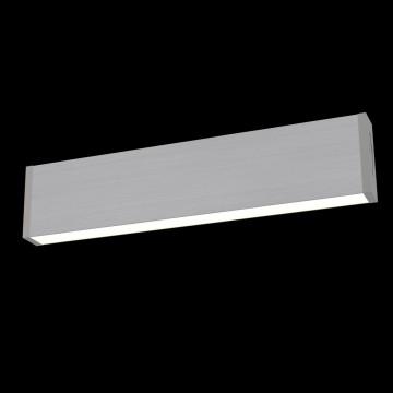 Настенный светодиодный светильник Maytoni Vilora C937-WL-01-18W-N (MOD937-60-N), LED 18W 4000K 1720lm CRI80, серый, металл, пластик