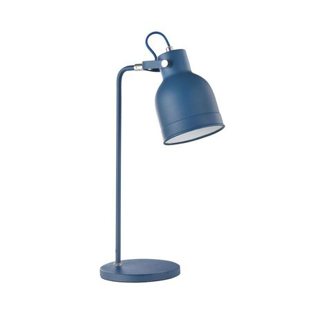 Настольная лампа Maytoni Pixar Z148-TL-01-L (mod148-01-l), 1xE27x40W, синий, металл