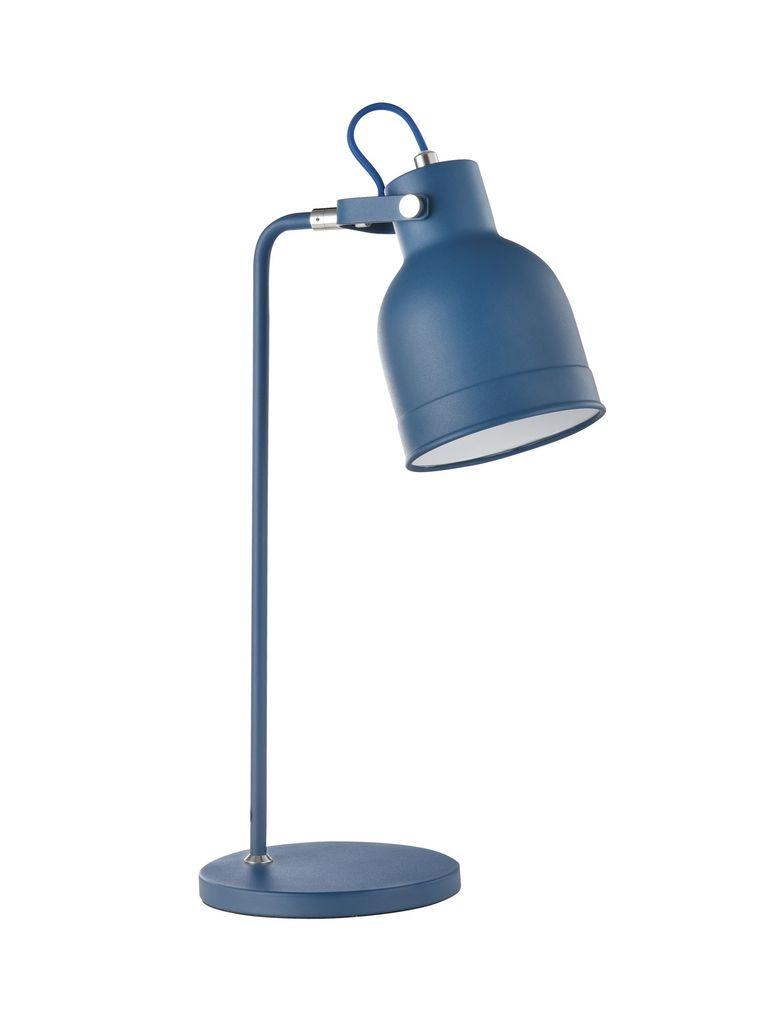 Настольная лампа Maytoni Pixar Z148-TL-01-L (mod148-01-l), 1xE27x40W, синий, металл - фото 1