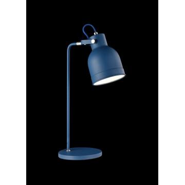 Настольная лампа Maytoni Pixar Z148-TL-01-L (mod148-01-l), 1xE27x40W, синий, металл - миниатюра 2
