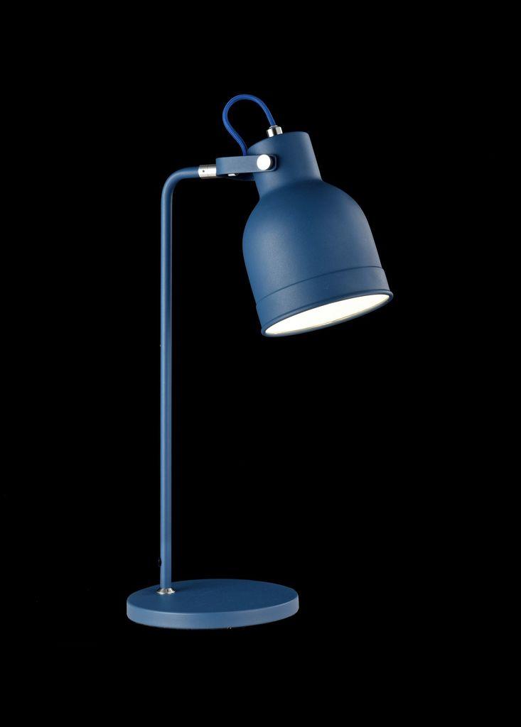Настольная лампа Maytoni Pixar Z148-TL-01-L (mod148-01-l), 1xE27x40W, синий, металл - фото 2