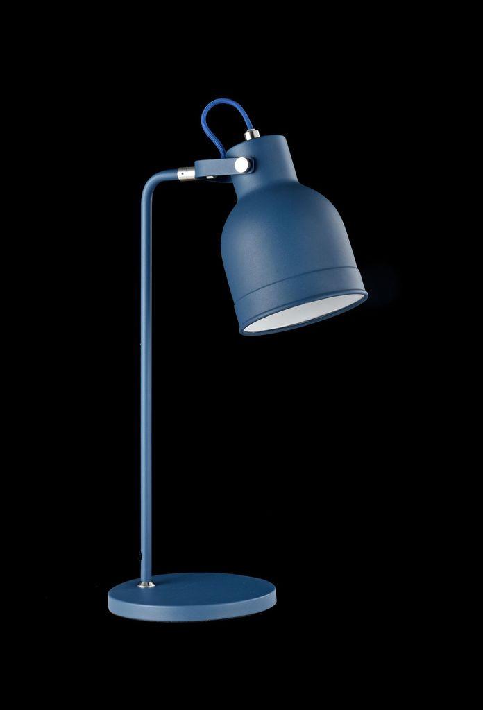 Настольная лампа Maytoni Pixar Z148-TL-01-L (mod148-01-l), 1xE27x40W, синий, металл - фото 3