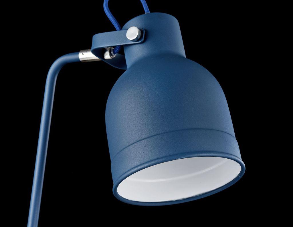 Настольная лампа Maytoni Pixar Z148-TL-01-L (mod148-01-l), 1xE27x40W, синий, металл - фото 6