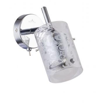 Настенный светильник с регулировкой направления света Maytoni Fresh - Spot SP005-CW-01-N (eco005-01-n), 1xGU10x50W, хром, металл, стекло - миниатюра 2