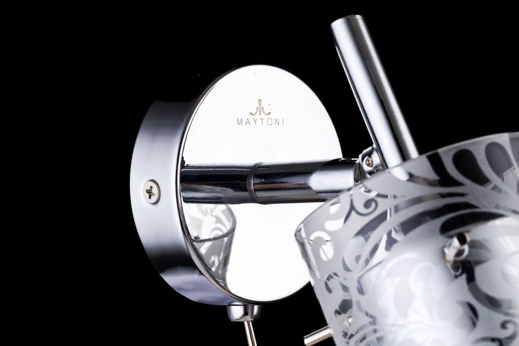 Настенный светильник с регулировкой направления света Maytoni Fresh - Spot SP005-CW-01-N (eco005-01-n), 1xGU10x50W, хром, металл, стекло - фото 5