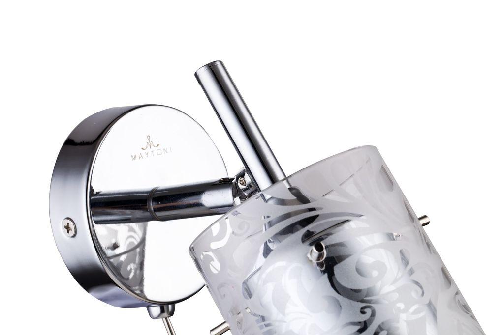 Настенный светильник с регулировкой направления света Maytoni Fresh - Spot SP005-CW-01-N (eco005-01-n), 1xGU10x50W, хром, металл, стекло - фото 6