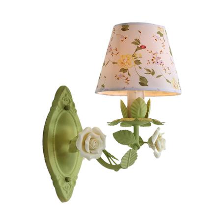 Бра Lucia Tucci Illuminazione Fiori di rose W107.1, 1xE14x60W