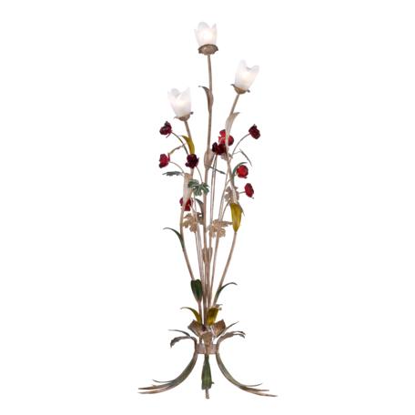 Торшер Lucia Tucci Illuminazione Fiori di rose F1760.3, 3xE27x60W