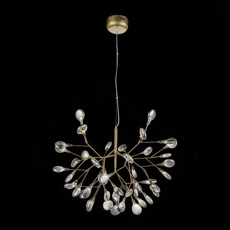 Подвесная люстра ST Luce Riccardo SL411.213.45, 45xG4x1,5W, матовое золото, дымчатый, металл, стекло
