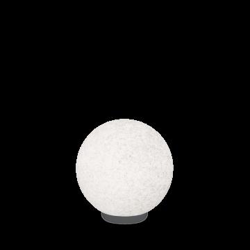 Садовый светильник Ideal Lux DORIS PT1 D30 214009, IP44, 1xE27x60W, белый, металл, пластик