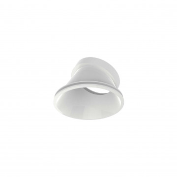 Рефлектор Ideal Lux DYNAMIC REFLECTOR ROUND SLOPE WHITE 211848, белый, металл