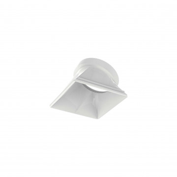 Рефлектор Ideal Lux DYNAMIC REFLECTOR SQUARE SLOPE WHITE 211879, белый, металл