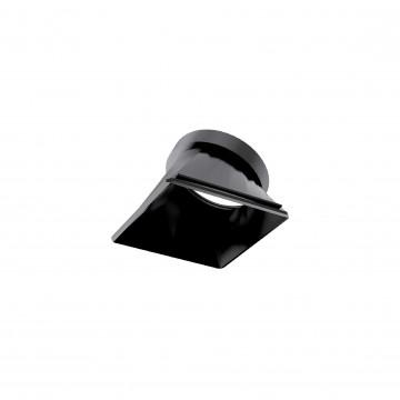 Рефлектор Ideal Lux DYNAMIC REFLECTOR SQUARE SLOPE BLACK 211886, черный, металл