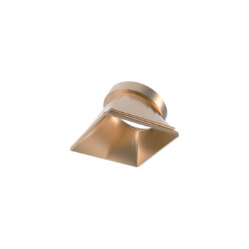 Рефлектор Ideal Lux DYNAMIC REFLECTOR SQUARE SLOPE GOLD 211893, золото, металл