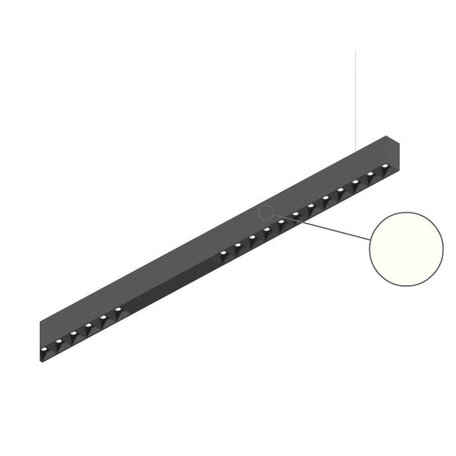 Светодиодный светильник для модульной системы Ideal Lux DRAFT 1-10V 3000K WHITE 215440, LED 50W 3000K 5800lm, белый, металл