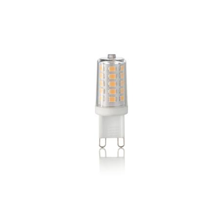 Светодиодная лампа Ideal Lux G9 3.2W 300Lm 3000K 209043 (CLASSIC G9 3,2W 300Lm 3000K) капсульная G9 3,2W (теплый)