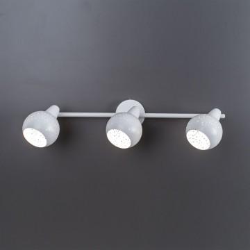 Настенный светильник с регулировкой направления света Citilux Деко CL504530, 3xE14x60W, белый, металл - миниатюра 5