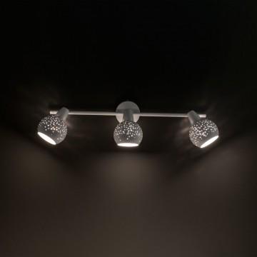 Настенный светильник с регулировкой направления света Citilux Деко CL504530, 3xE14x60W, белый, металл - миниатюра 6