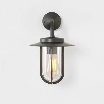 Настенный фонарь Astro Montparnasse 1096009 (8216), IP44, 1xE27x60W, бронза, прозрачный, металл, металл со стеклом
