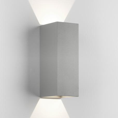 Настенный светодиодный светильник Astro Oslo 1298023 (8208), IP65, LED 7,9W 3000K 365lm, серый, металл