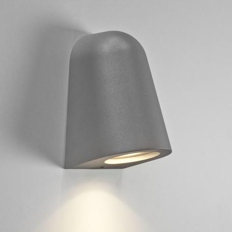 Настенный светильник Astro Mast 1317007 (8197), IP65, 1xGU10x6W, серый, металл