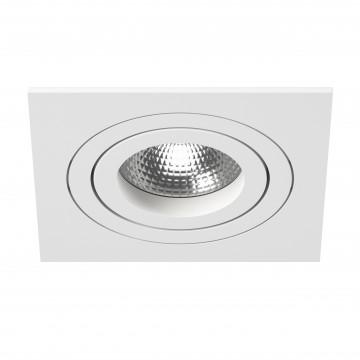Встраиваемый светильник Lightstar Intero 16 i51606, 1xGU10x50W, белый, металл
